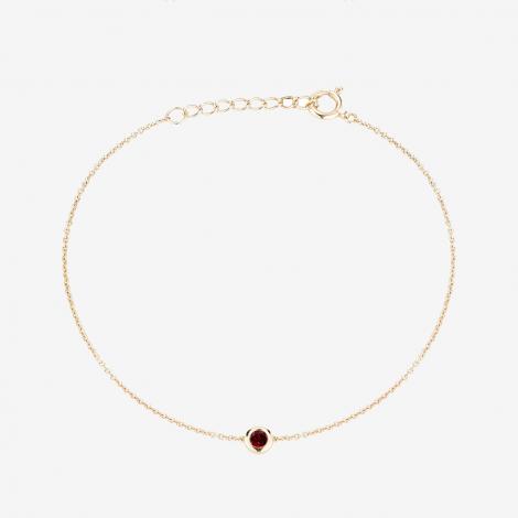 Kyle Cavan 14k Gold Garnet Bracelet