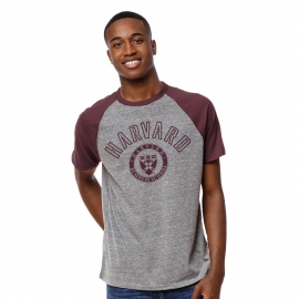Men's Harvard Business School Victory Falls Baseball Tee