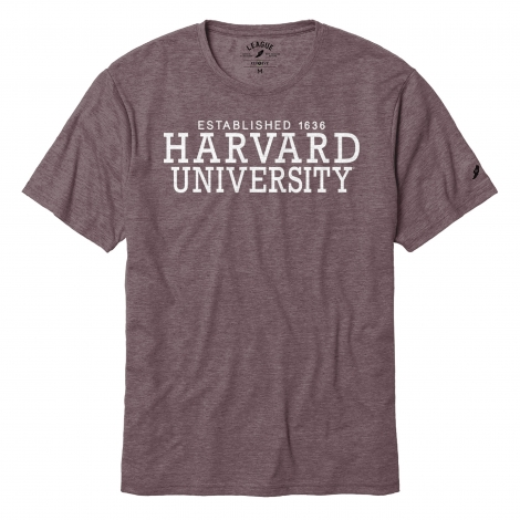 Harvard League Reclaim Recycled Jersey Tee