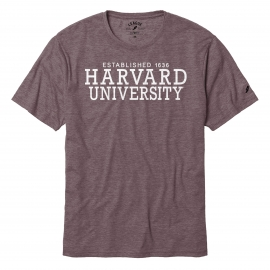 Harvard Men's Maroon Reclaim Tee Shirt