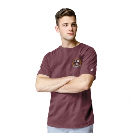 Harvard League All-American Embroidered Seal Tee Shirt