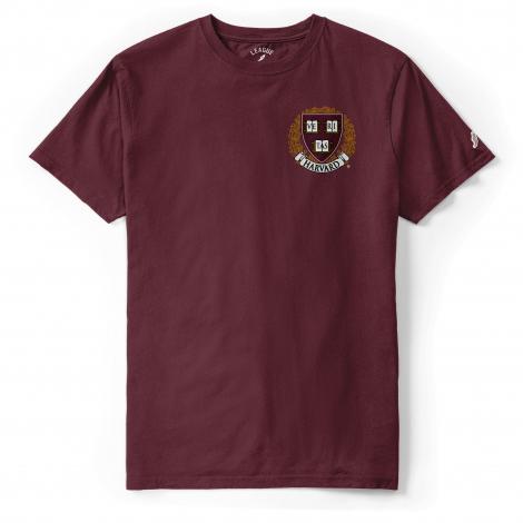 Harvard All-American Embroidered Seal Tee Shirt