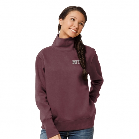 Women's MIT Fleece Turtleneck