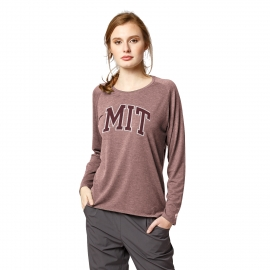 MIT Women's Long Sleeve Tri-blend Tee Shirt