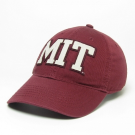 MIT Fabric Applique Washed Twill Hat