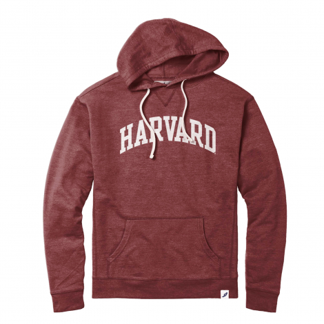 Harvard League French Terry Vintage Hooded Sweatshirt