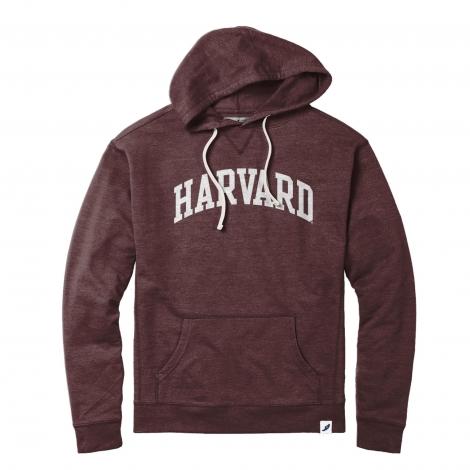 Harvard League French Terry Vintage Hooded Sweatshirt