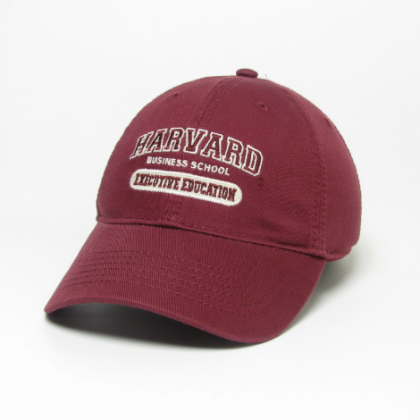 Harvard Business School Executive Education Washed Twill Hat