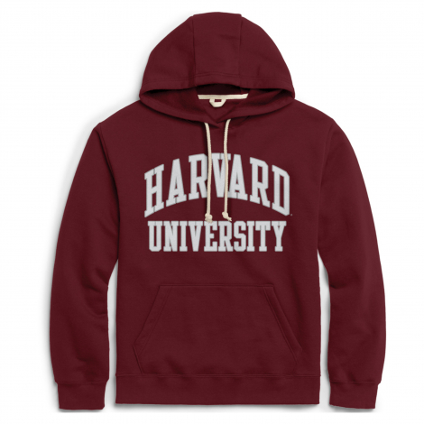 Harvard League Essential Fleece Hooded Sweatshirt