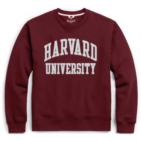 Harvard League Essential Fleece Crew Neck Sweatshirt
