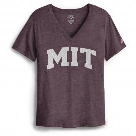 MIT League Women's Intramural V-Neck Boyfriend Tee Shirt