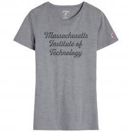 MIT League Women's Script Logo Freshy Tee Shirt