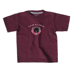 Evil Genius Toddler Maroon T Shirt