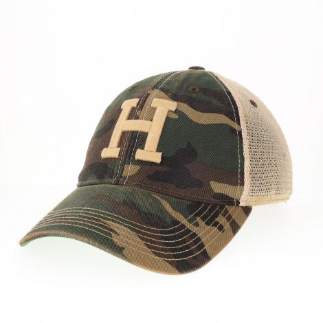 Harvard Camo Trucker Hat