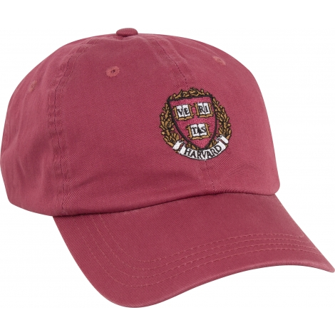 Harvard Seal Vintage Twill Hat