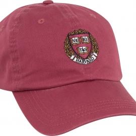 Harvard Seal Vintage Washed Twill Hat