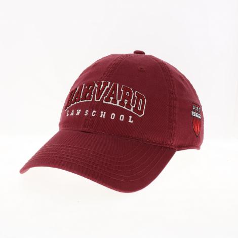 Harvard Law School Shield Washed Twill Hat