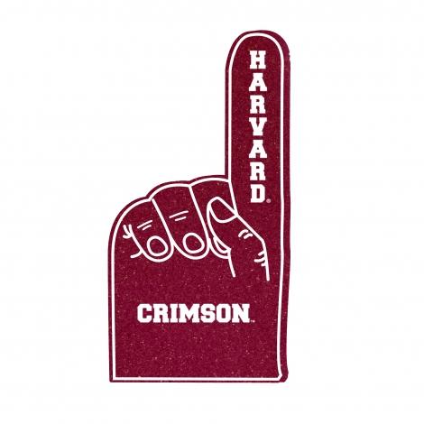 Harvard Crimson Foam Finger
