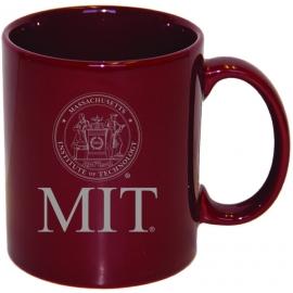 MIT Maroon Ceramic Mug