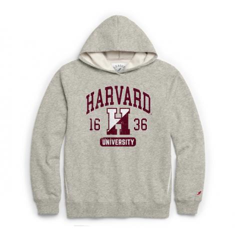 Harvard League 1636 Pocket Hooded Sweatshirt