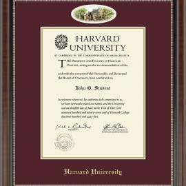 Eglomise Edition Undergrad or Grad Diploma Frame