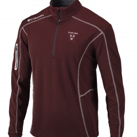 Harvard  Columbia Omni-Wick Shotgun 1/4 Zip