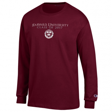Class of 2017 Maroon Long Sleeve T Shirt