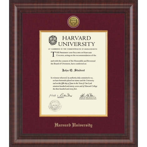 Harvard - Gifts & Accessories - Accessories - Diploma & Photo Frames