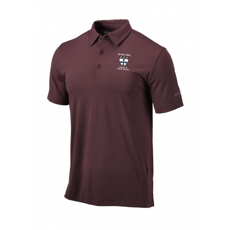 Harvard School of Public Health Men's Omni-Wick Drive Polo