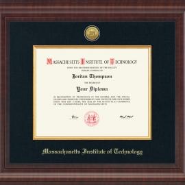 MIT Premier Edition Diploma Frame