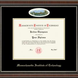 Eglomise Edition MIT Diploma Frame