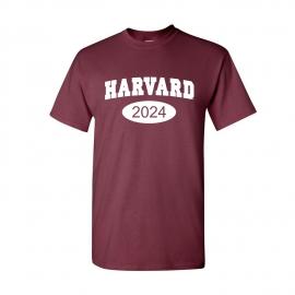 Harvard Class of 2024 Tee Shirt