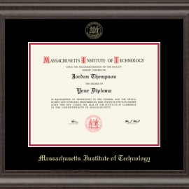 Recycled Wood Acadia MIT Diploma Frame
