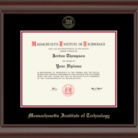 Recycled Wood Ranier MIT Diploma Frame