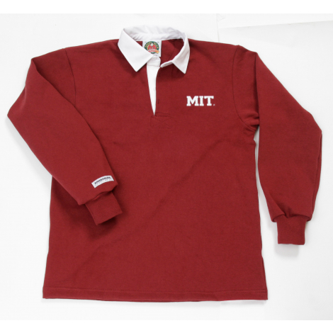 MIT Barbarian Authentic Solid Rugby Shirt