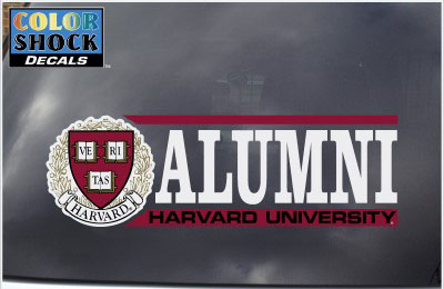 Harvard Alumni Outside Decal