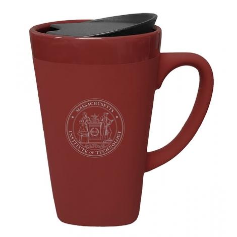 MIT Soft Touch Ceramic Mug