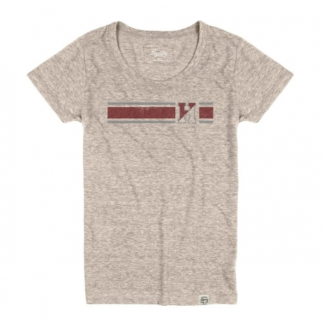 Harvard Women's Tri-blend Crewneck Tee