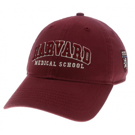Harvard Medical School Washed Twill Hat