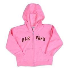 Harvard Toddler Full Zip Sweatshirt