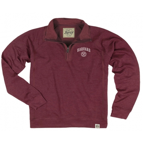 Harvard Youth French Terry 1/4 Zip
