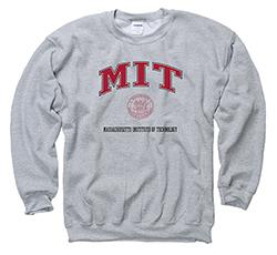 MIT Grey Crew Sweatshirt