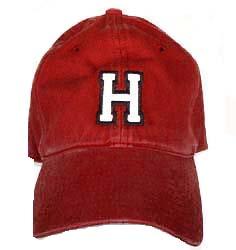 Crimson Official Athletic  H Hat