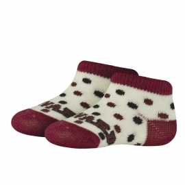 Harvard Infant Bootie Socks