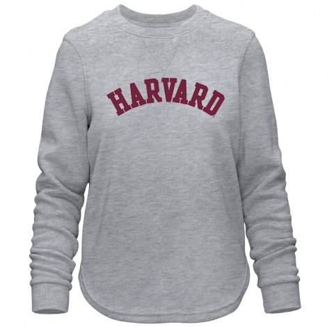 Harvard  Women's Felt Applique Comfy Crew