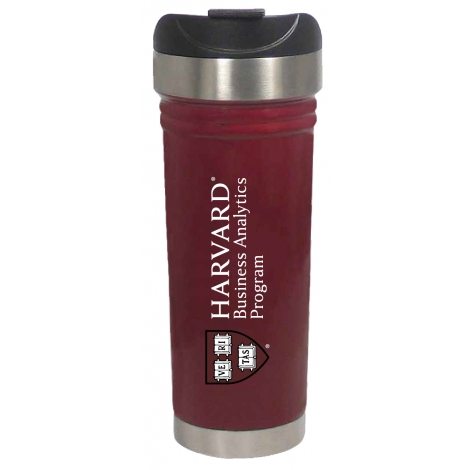 Harvard Business Analytics Program Turbo Tumbler