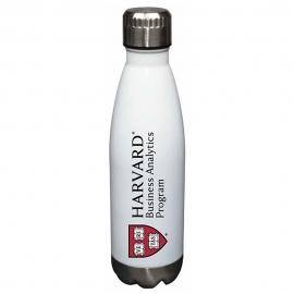 Harvard Business Analytics Program Glacier Water Bottle