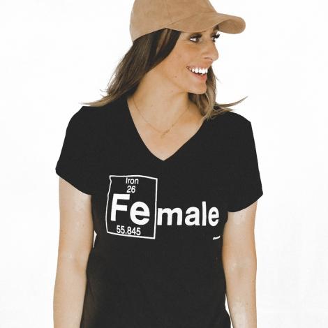 (Fe)male Women's Tee by Ironmale