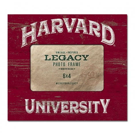 Harvard Vintage Wood Photo Frame