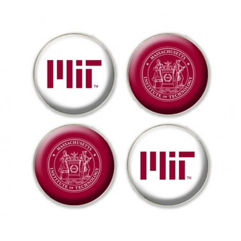 MIT 4-pack Fridge Magnets
